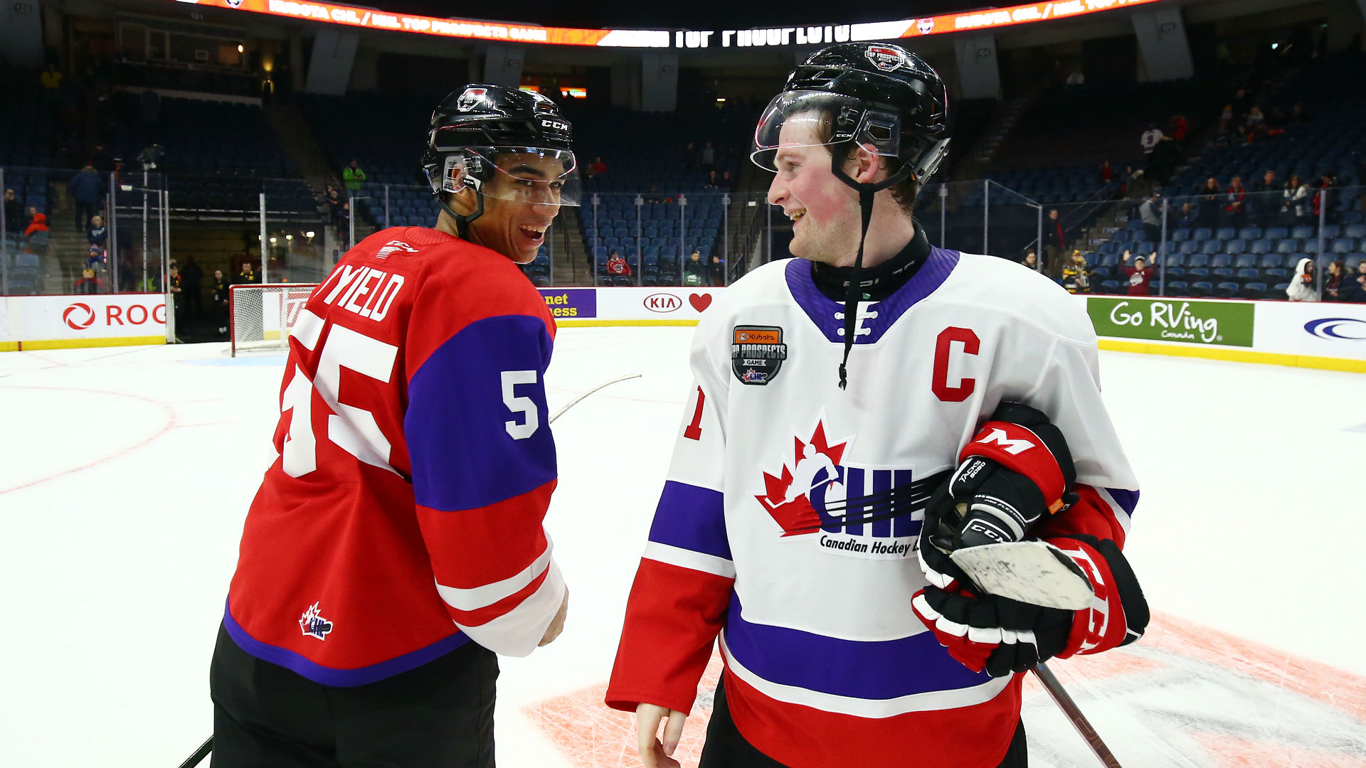 NHL Draft 2020: Alexis Lafreniere, Quinton Byfield among standouts at CHL/NHL Top Prospects Game