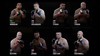 EA Sports UFC 2 Heavyweights