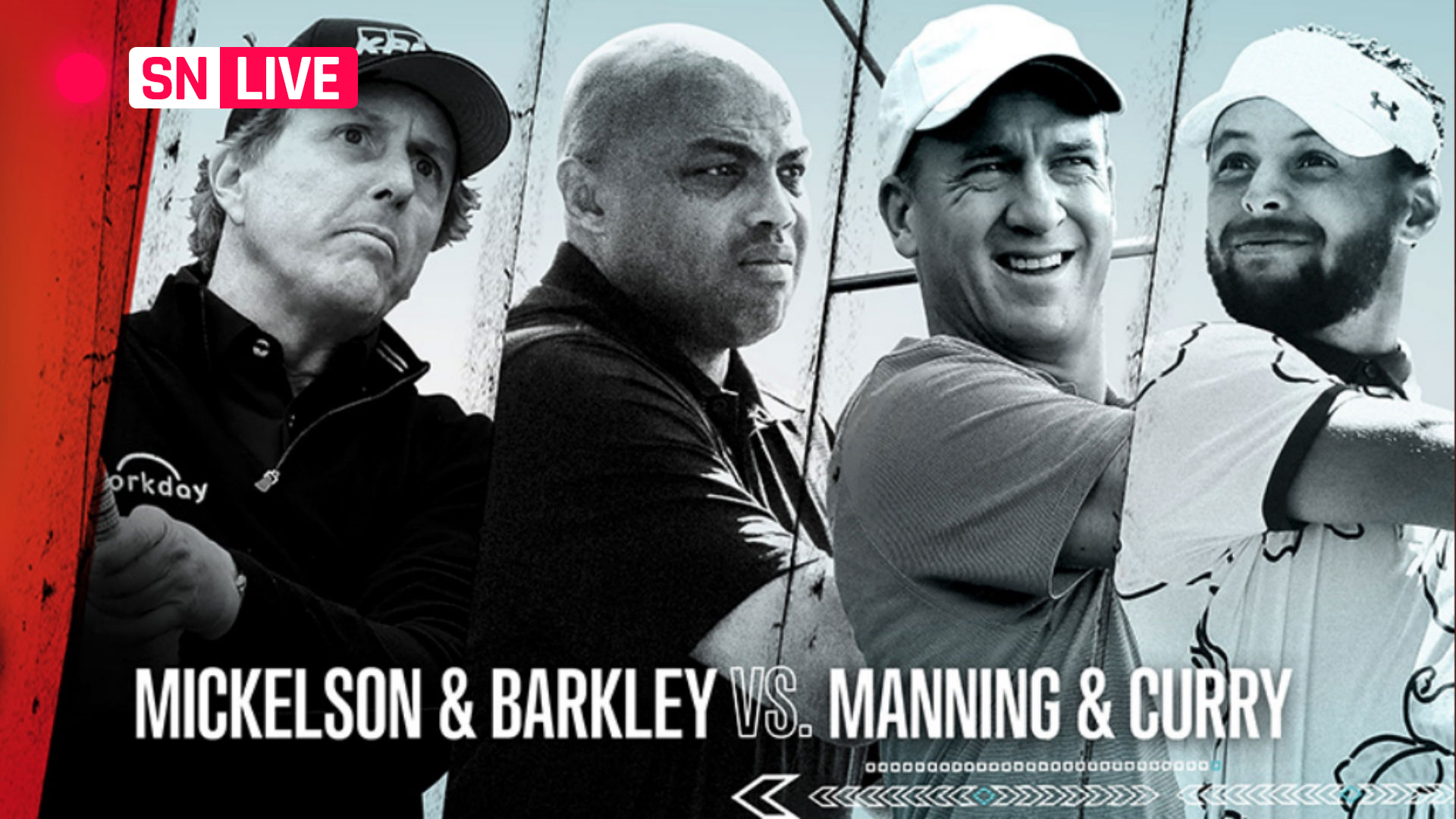 The Match 3 results: Charles Barkley shockingly OK, Phil Mickelson dominant in win over Peyton Manning, Stephen Curry