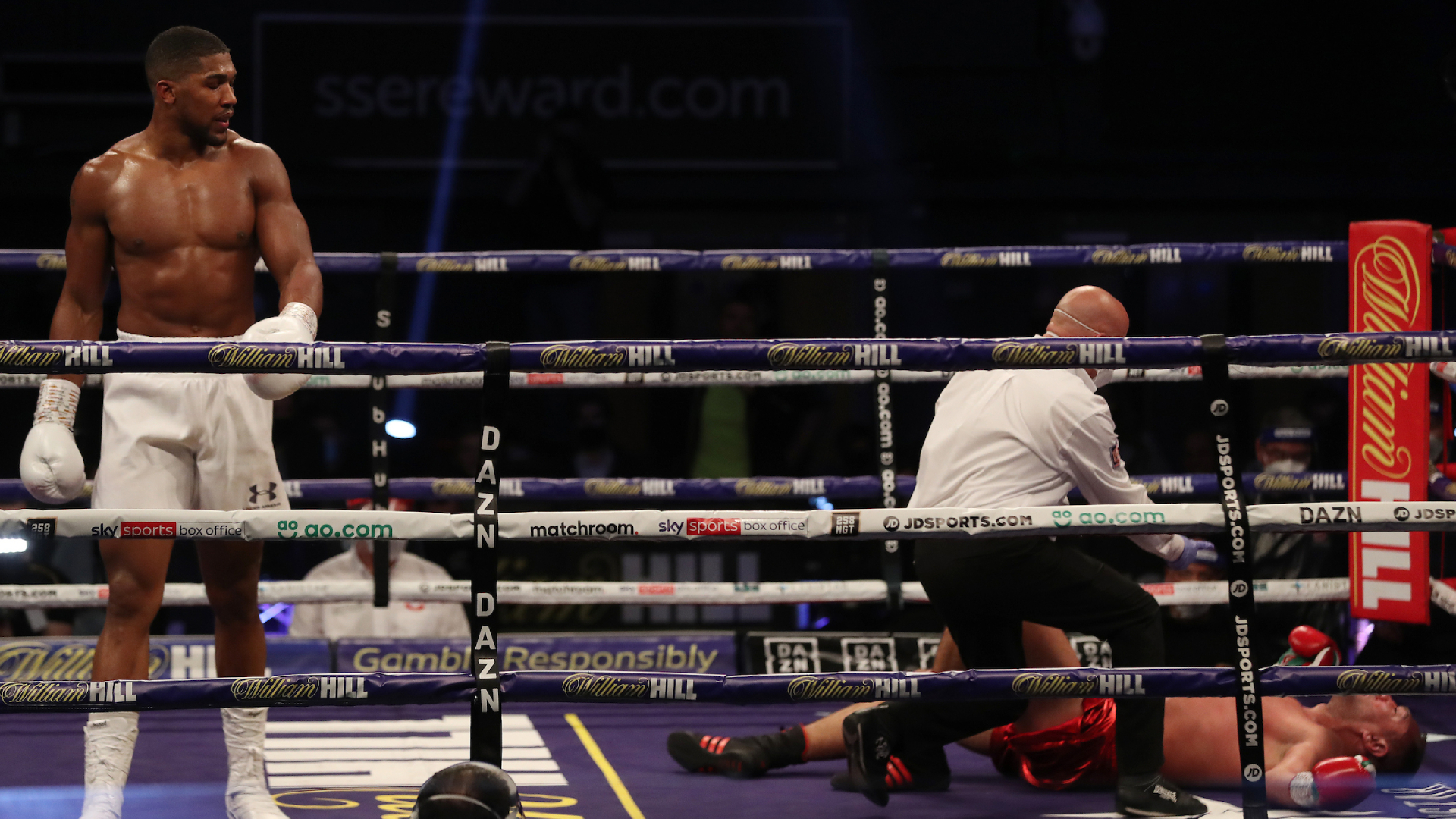 Anthony Joshua vs. Kubrat Pulev results: Joshua dominates with 9th-round KO  to retain titles   Sporting News