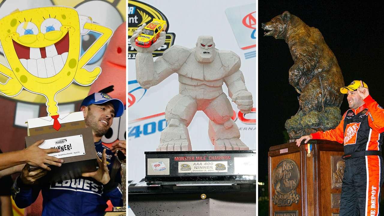 NASCAR's most unique trophies