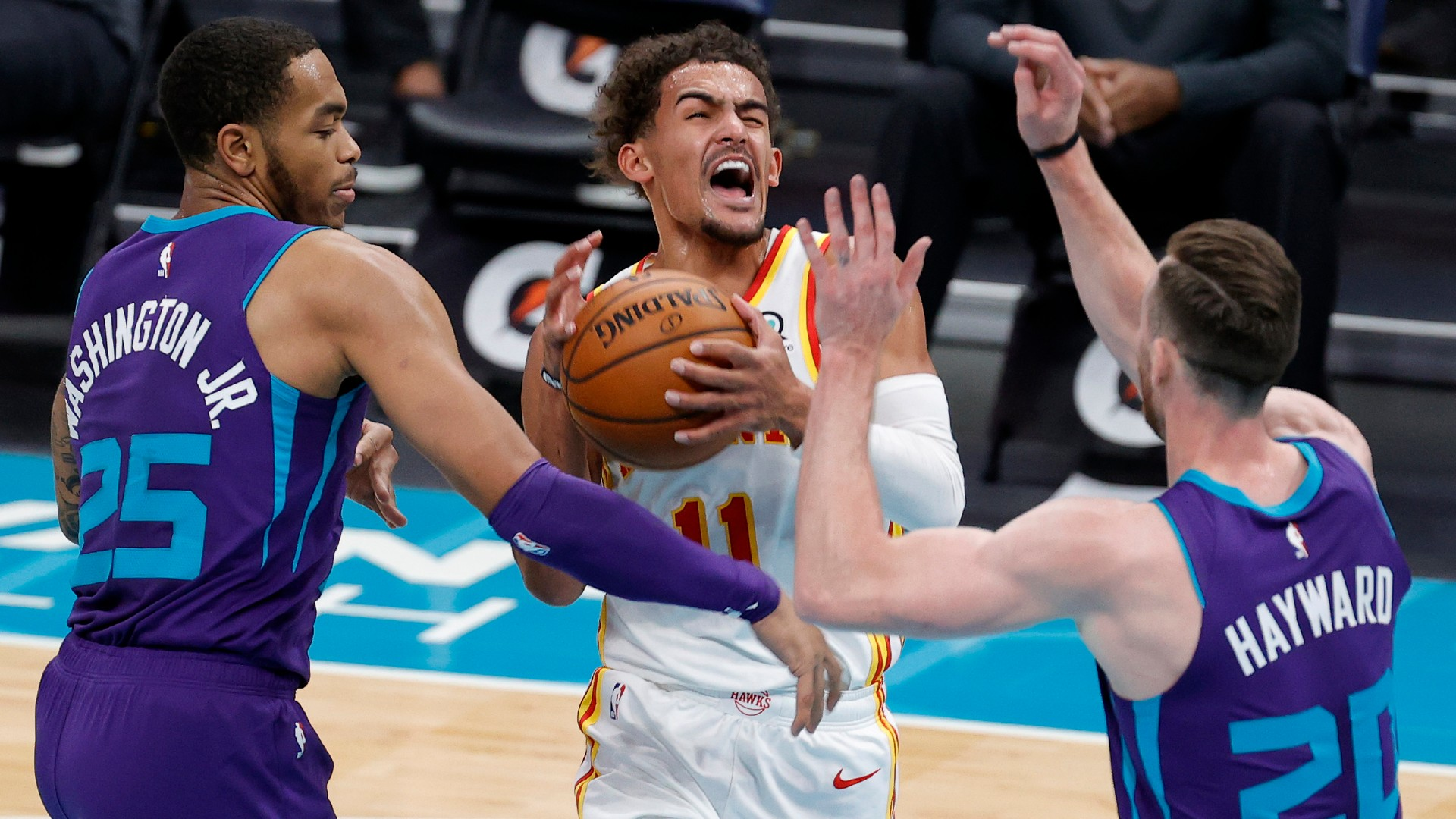 Trae Young has perfect response to Steve Nashs complaint about signature foul-drawing move