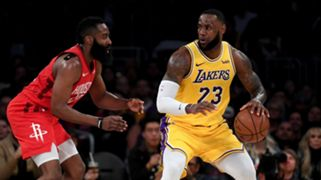 LeBron James Los Angeles Lakers James Harden Houston Rockets