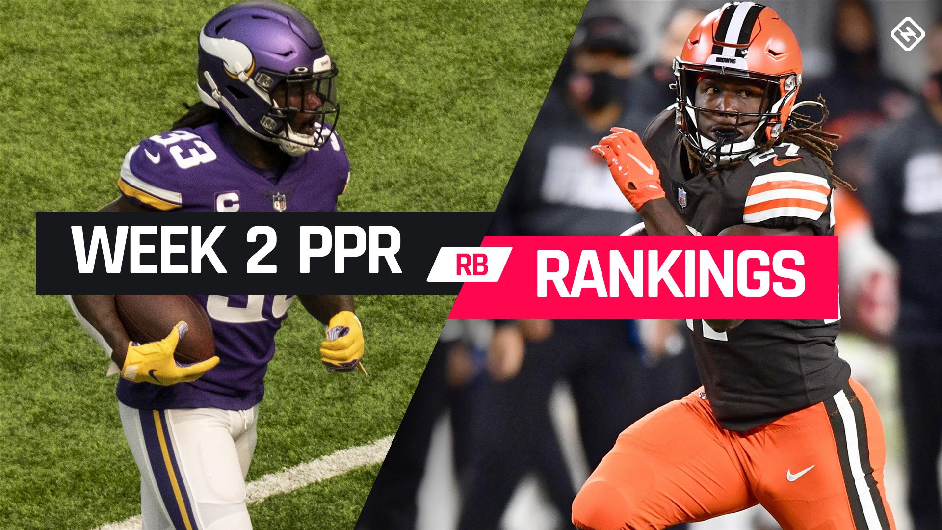 Week 3 Fantasy Football Running Back PPR Rankings 1