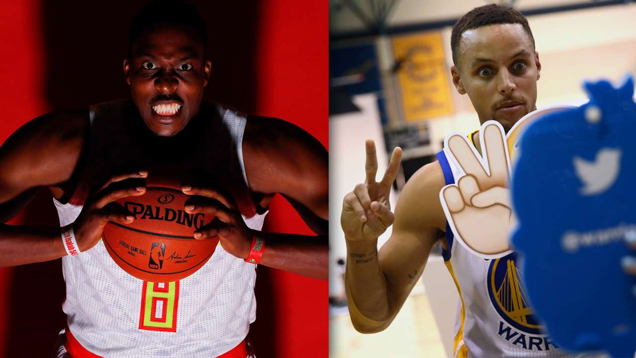 Photos from NBA media day