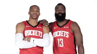Russell Westbrook James Harden Houston Rockets