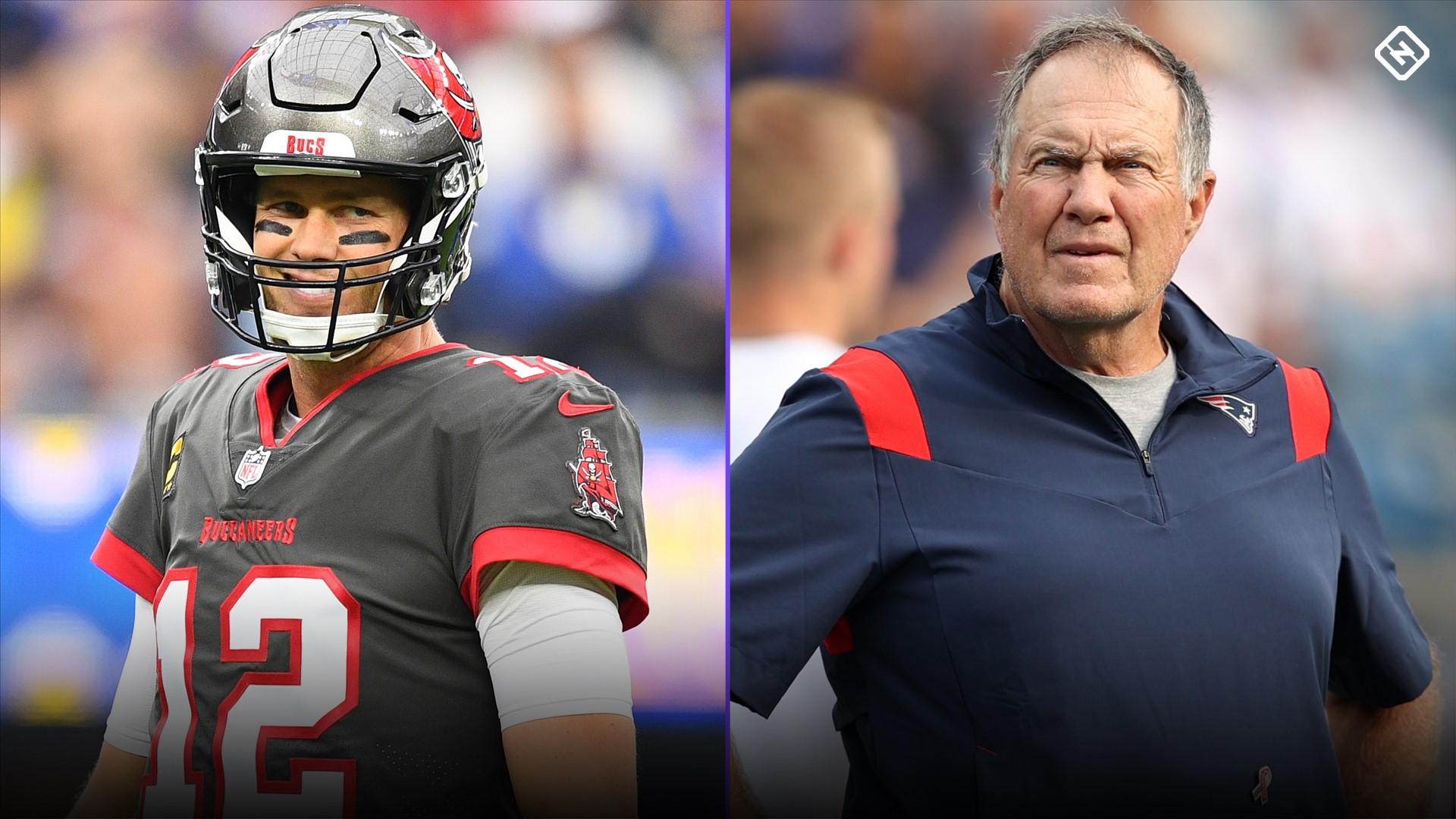 Tom Brady vs. Bill Belichick: Who needs to win Buccaneers vs. Patriots  more? | Sporting News
