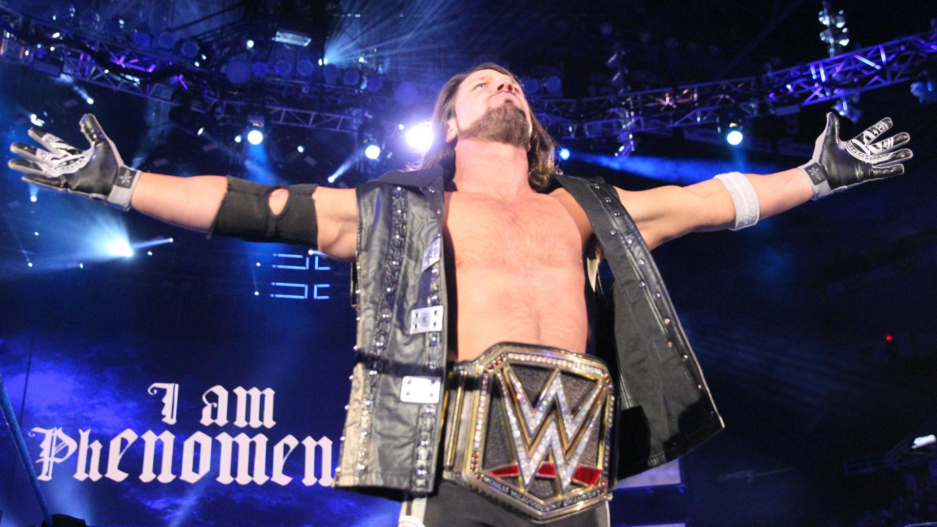 Vem är AJ dating i WWE