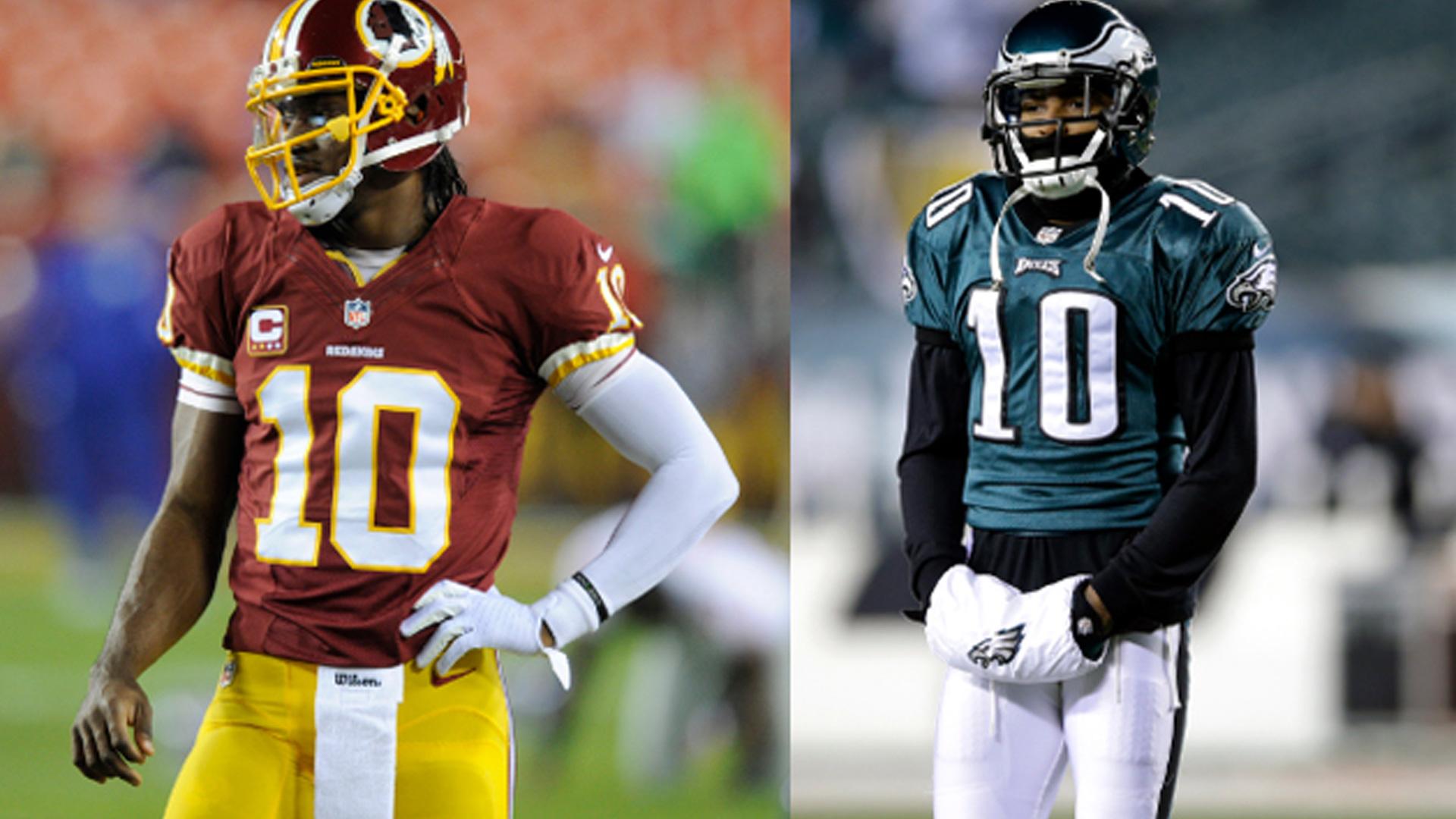 DeSean Jackson wants Robert Griffin III's jersey number | Sporting ...