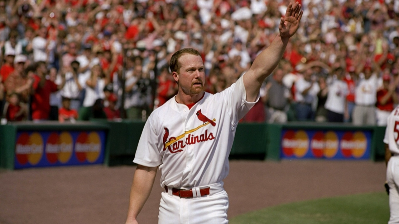 Mark Mcgwire S 70 Home Run Season A Timeline Of Monster Shots And Memorable Moments Sporting News