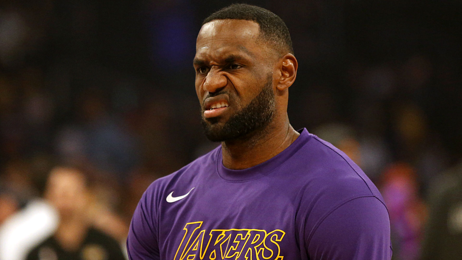 LeBron James complains about foul call to . . . Jeff Van Gundy?