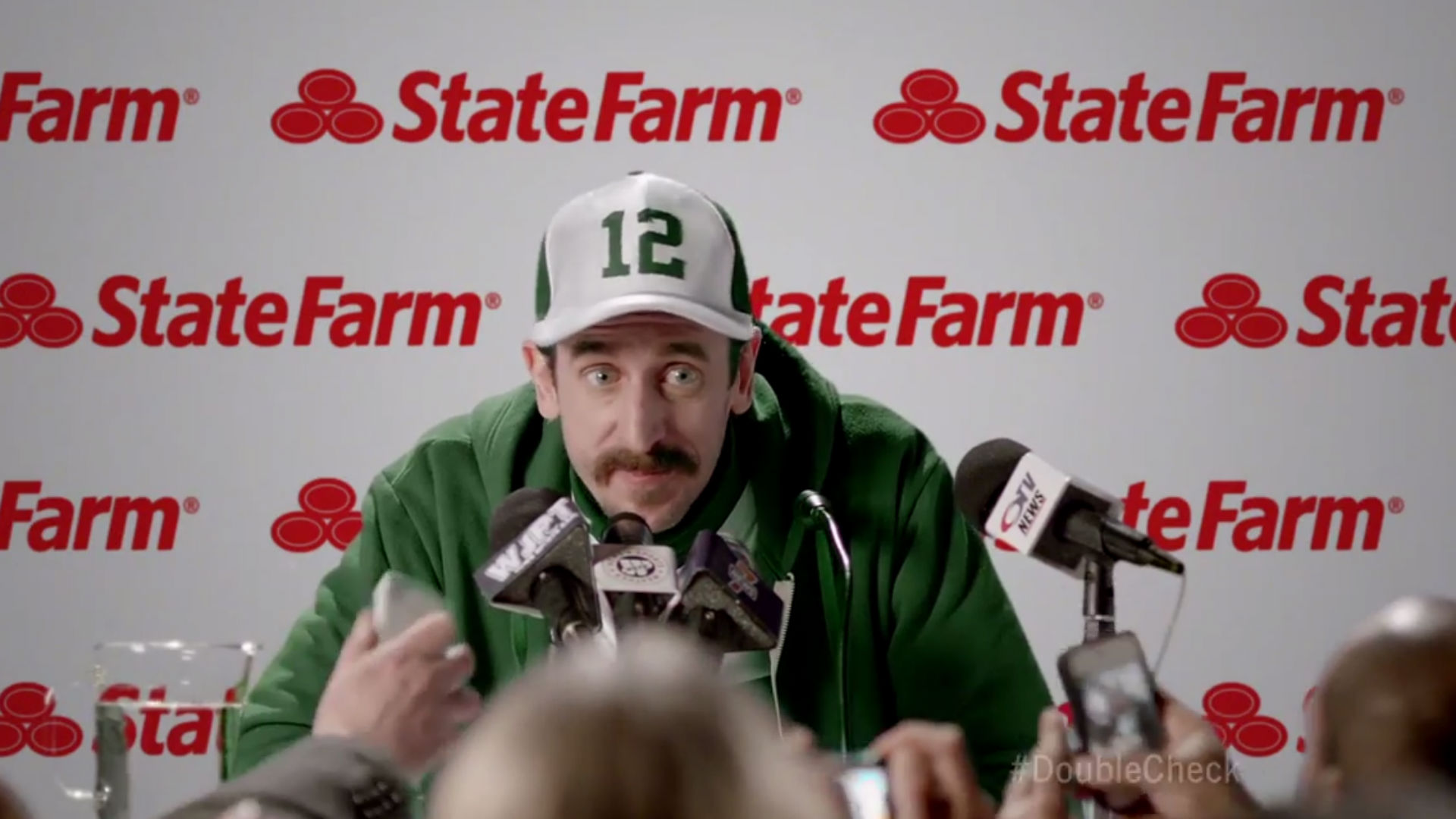 Fake Aaron Rodgers stars in State Farm commercial ...
