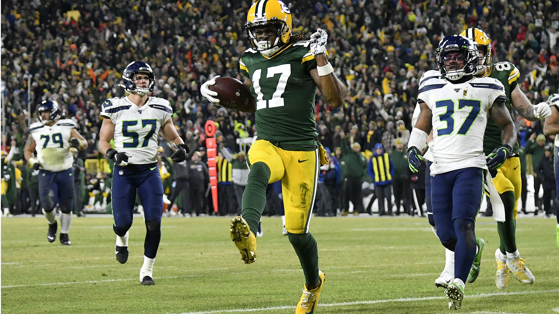 Packers Vs Seahawks Final Score Green Bay Avoids Late Game Choke To Beat Seattle Sporting News