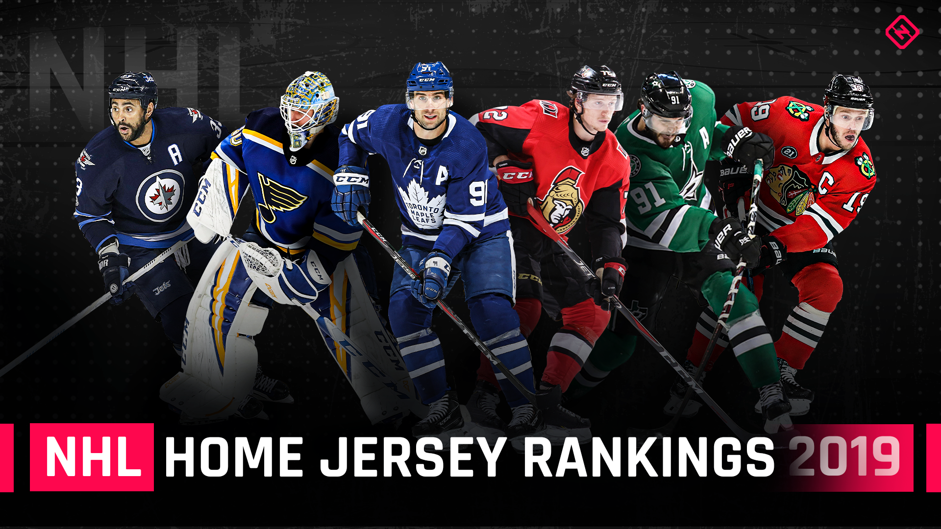 Ranking All 31 Nhl Home Jerseys From Worst To First Sporting News Canada