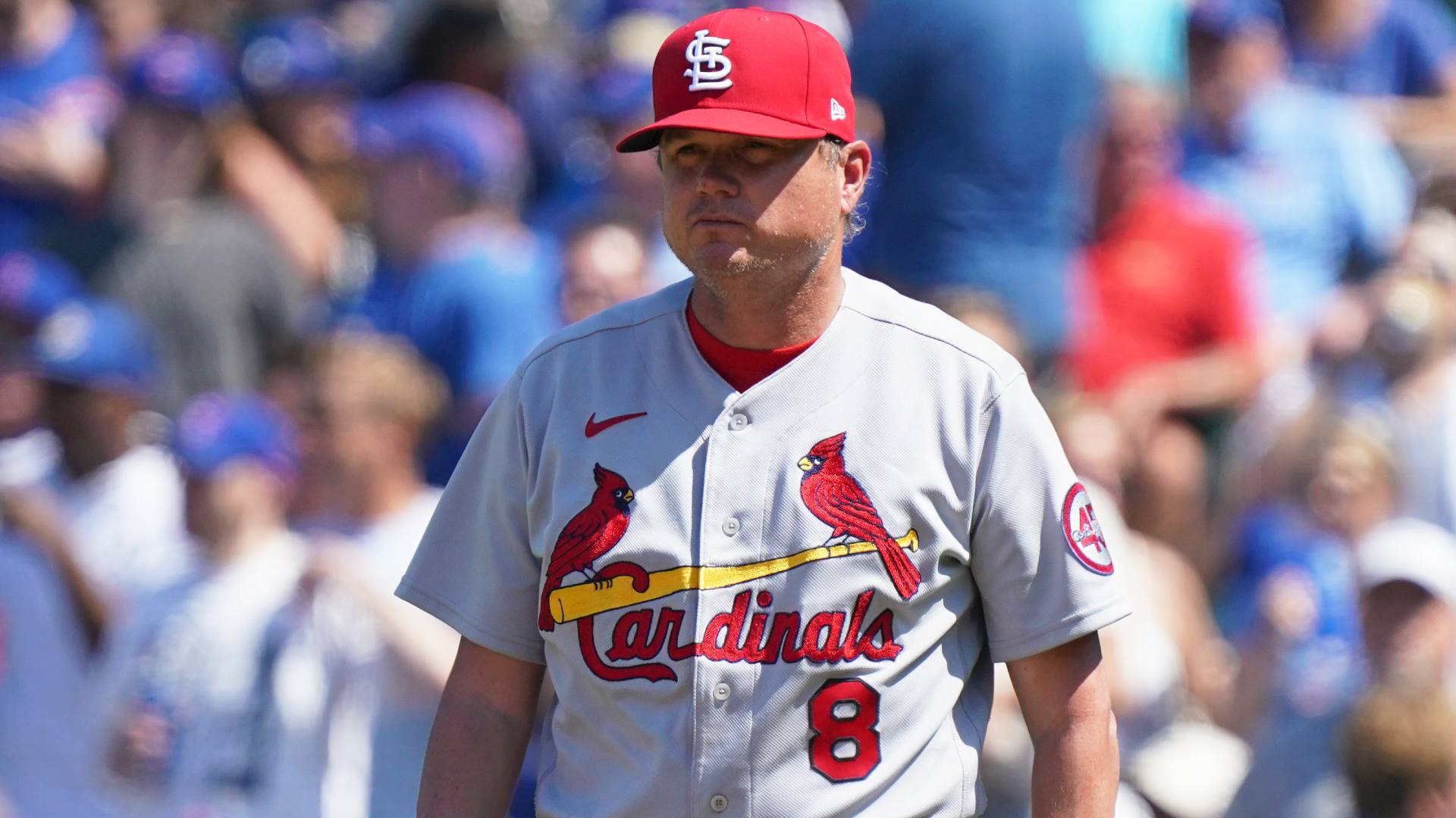 """Cardinal Mike Shildt Director: """"You'll See a Delay"""" in Some Pitchers with Sticky Substance Repression"""