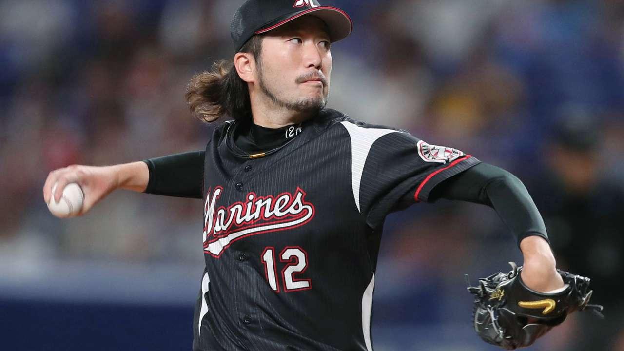 石川歩の投球