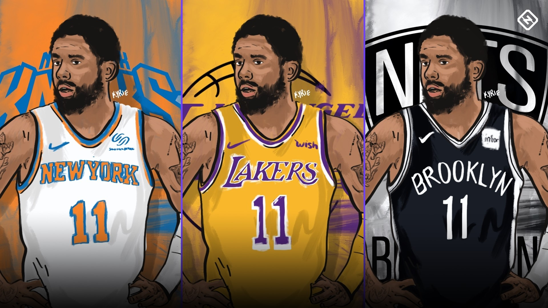 Kyrie Irving Lakers >> Kyrie Irving Free Agency Fits Can Lakers Knicks Steal Star