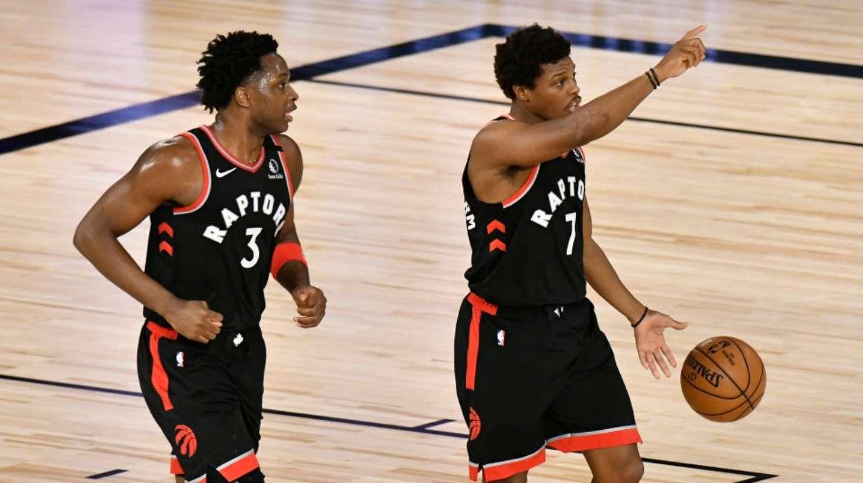 OG Anunoby Kyle Lowry Toronto Raptors