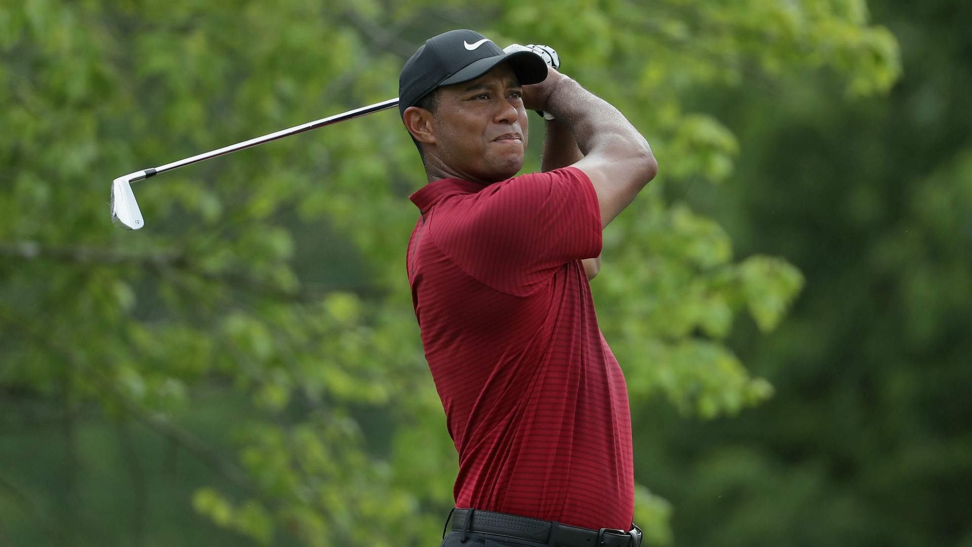 tiger woods score  round 4 live updates  highlights from