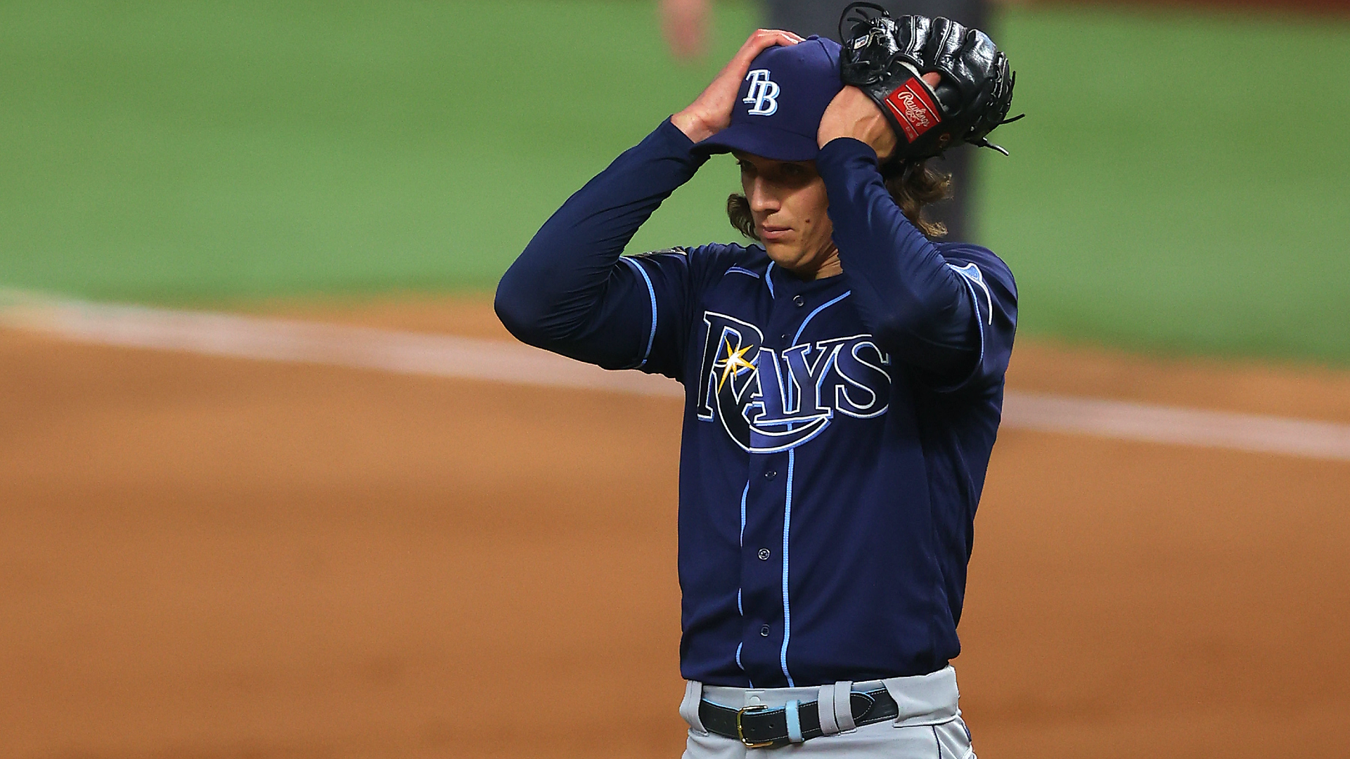 Rays go old-school at worst time, leave Tyler Glasnow in too long in Game 1 of World Series