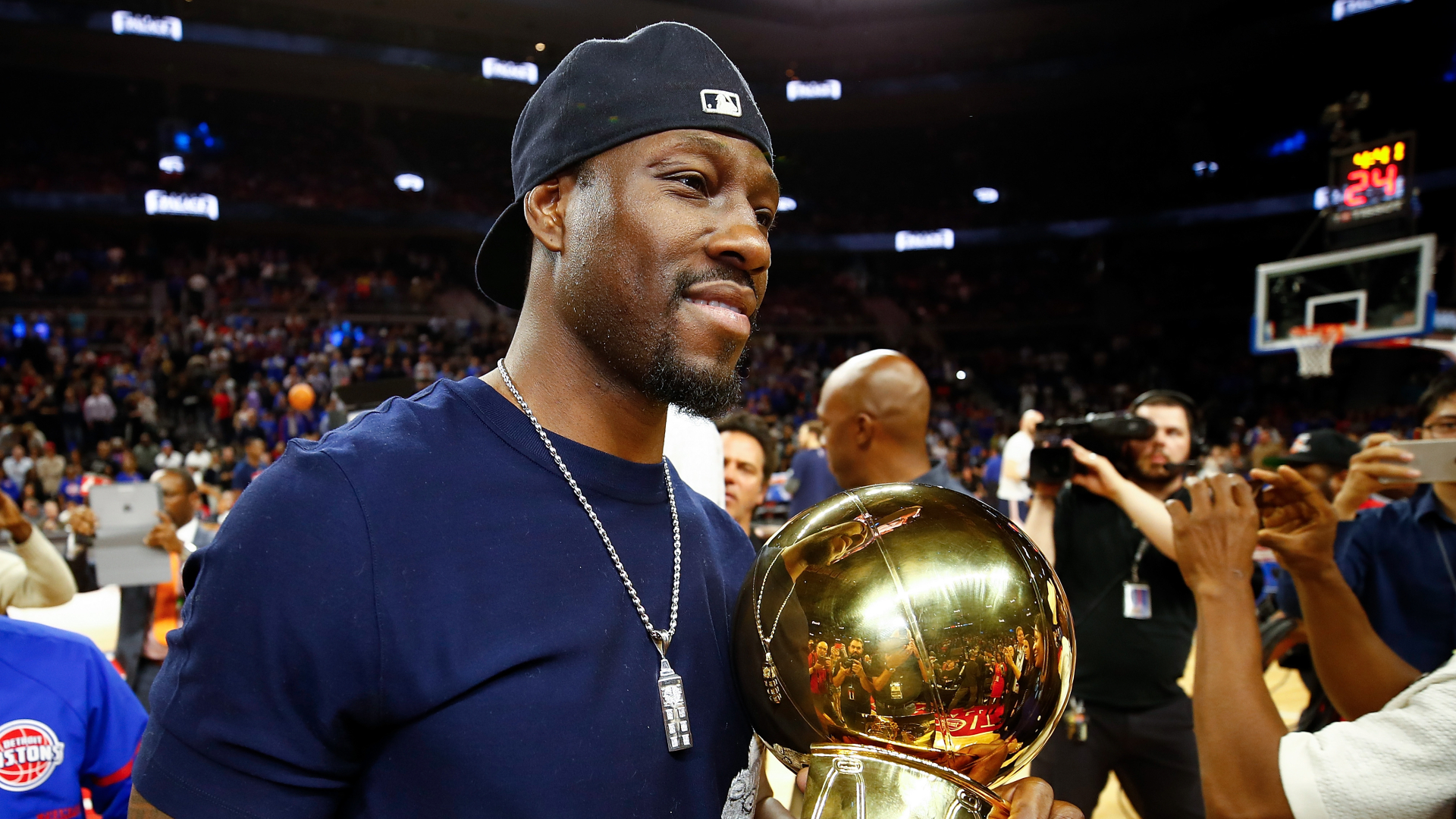 Ben Wallace will enter the 2021 Basketball Hall of Fame for each report