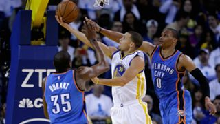 Stephen Curry - Kevin Durant - Russell Westbrook - Getty - FTR