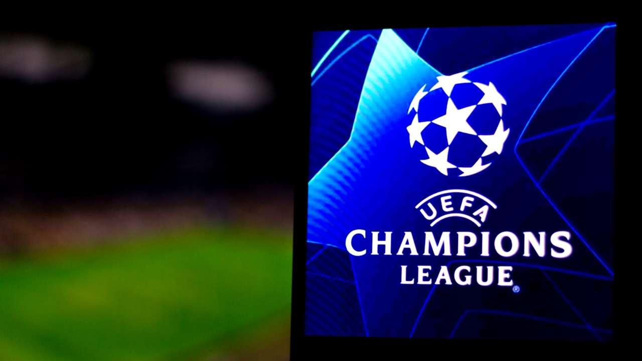 UEFA Champions League logo - field background