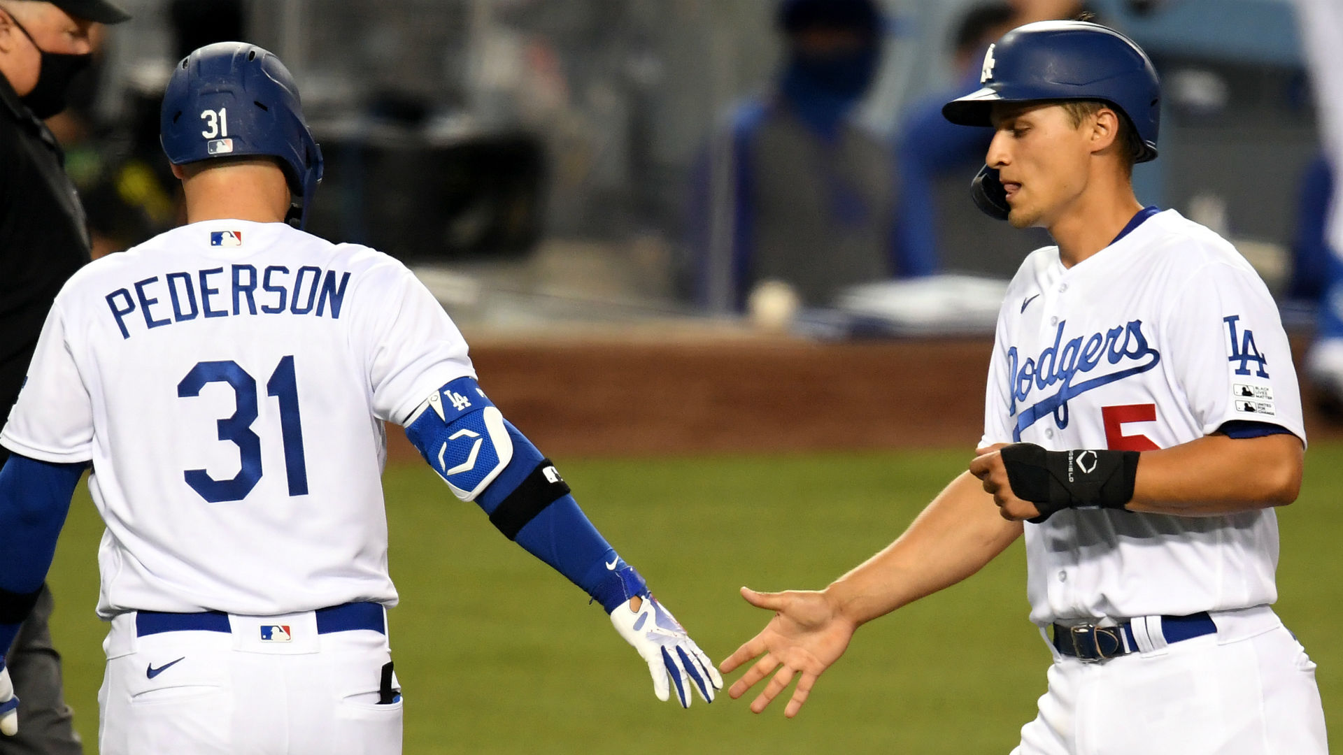 Dodgers vs. Giants score: Los Angeles takes Opening Day win over rival San Francisco 1