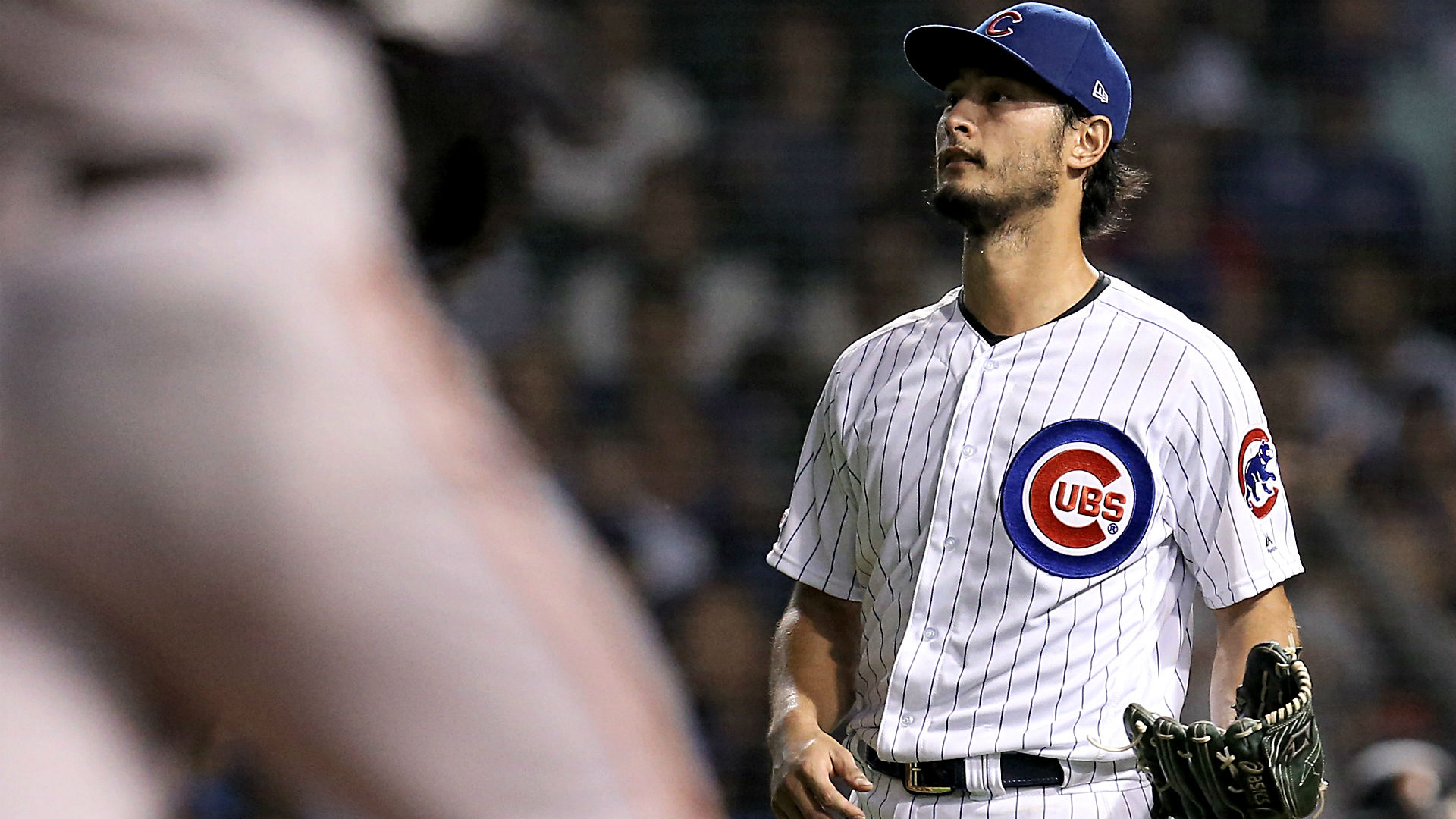 Yu Darvish gives Astros pass on sign-stealing, then gets roasted by Christian Yelich over video