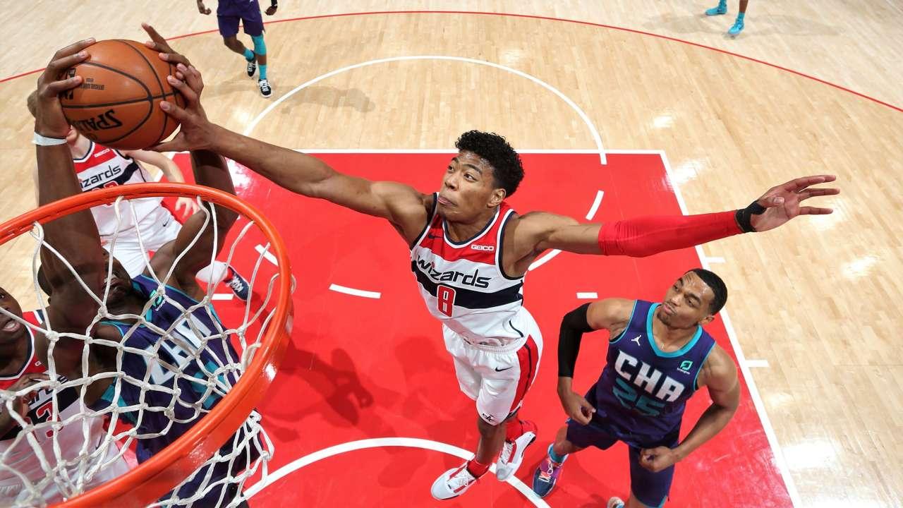 八村塁 Rui Hachimura Wizards Charlotte Hornets