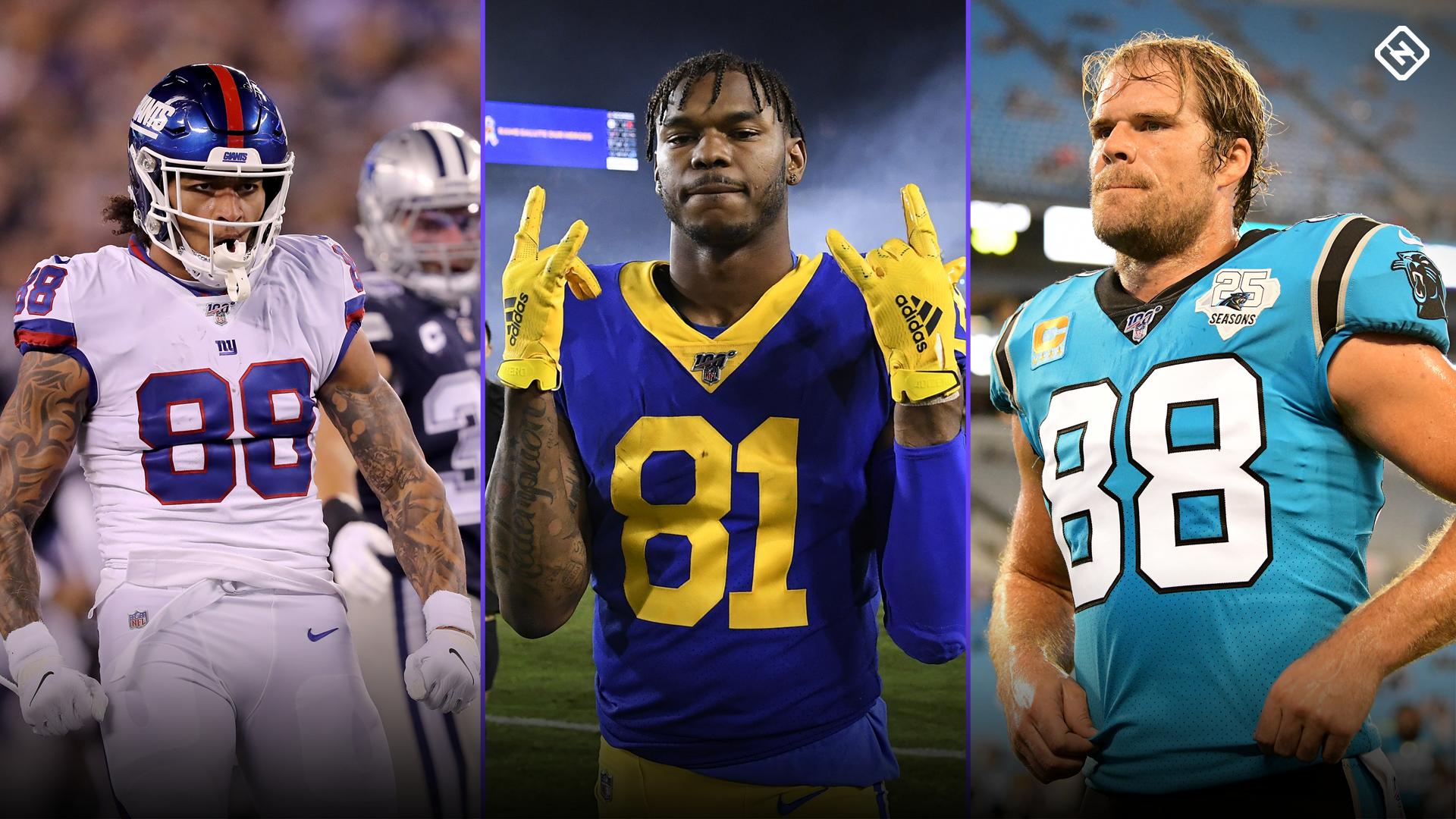 Fantasy Football Injury Updates: Evan Engram, Gerald Everett, Greg Olsen affect Week 15 TE rankings