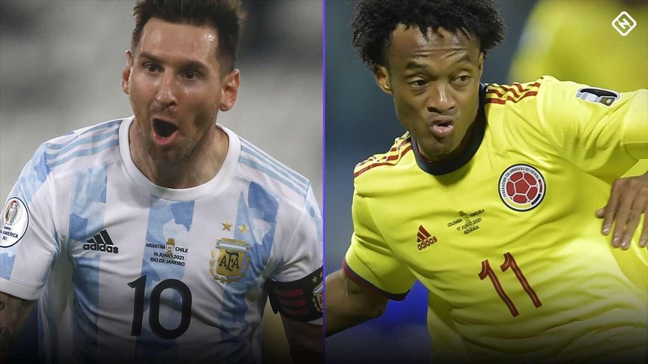 Lionel Messi - Juan Cuadrado - Copa America 2021