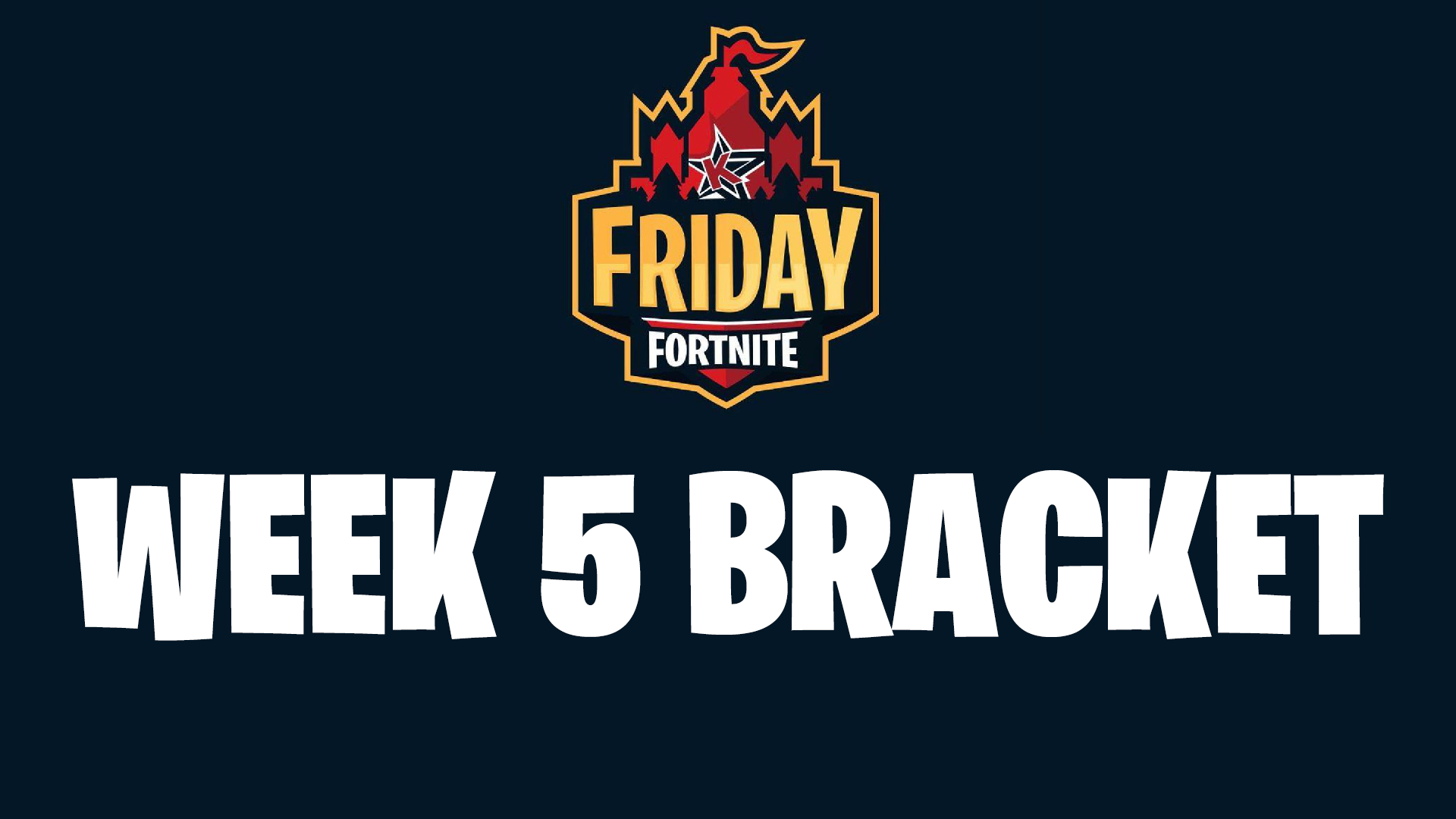 Friday Fortnite Barcket Friday Fortnite Bracket Results From Week 5 Tourney Starring Juju Smith Schuster Sporting News Canada