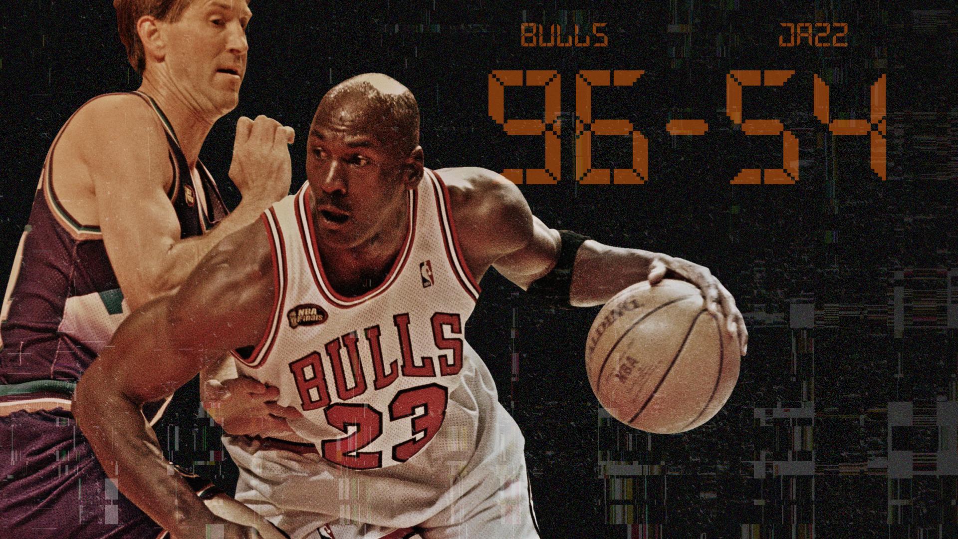 Remembering When Michael Jordan Bulls Shut Down Jazz In Biggest Nba Finals Blowout Ever Sporting News
