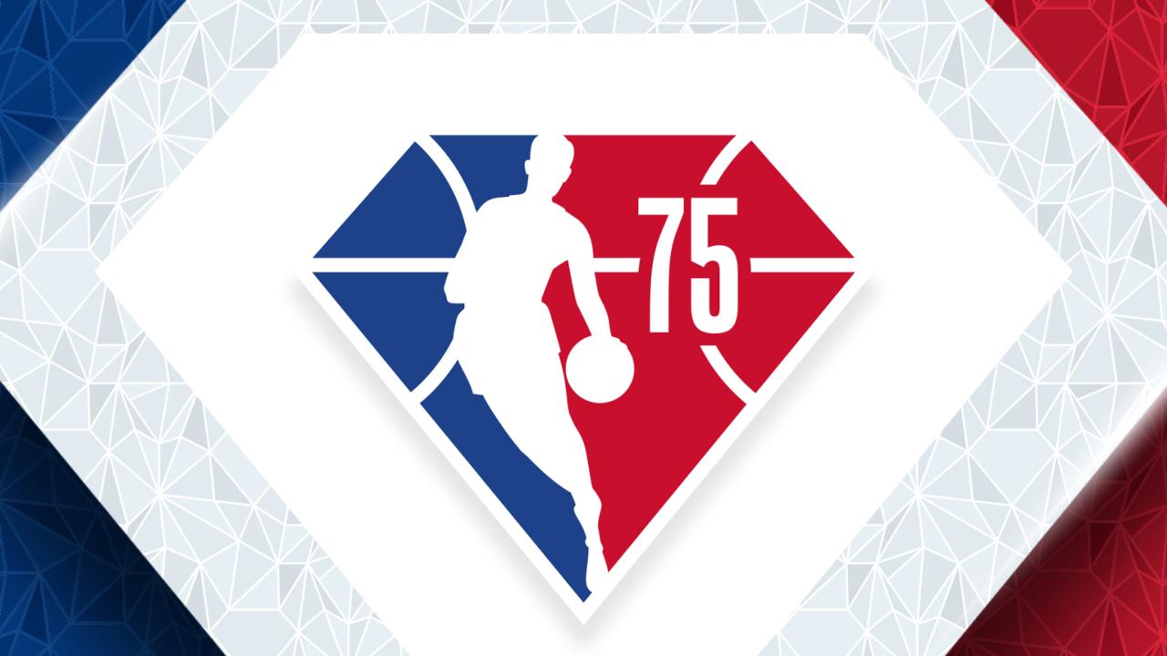 NBA 75 logo