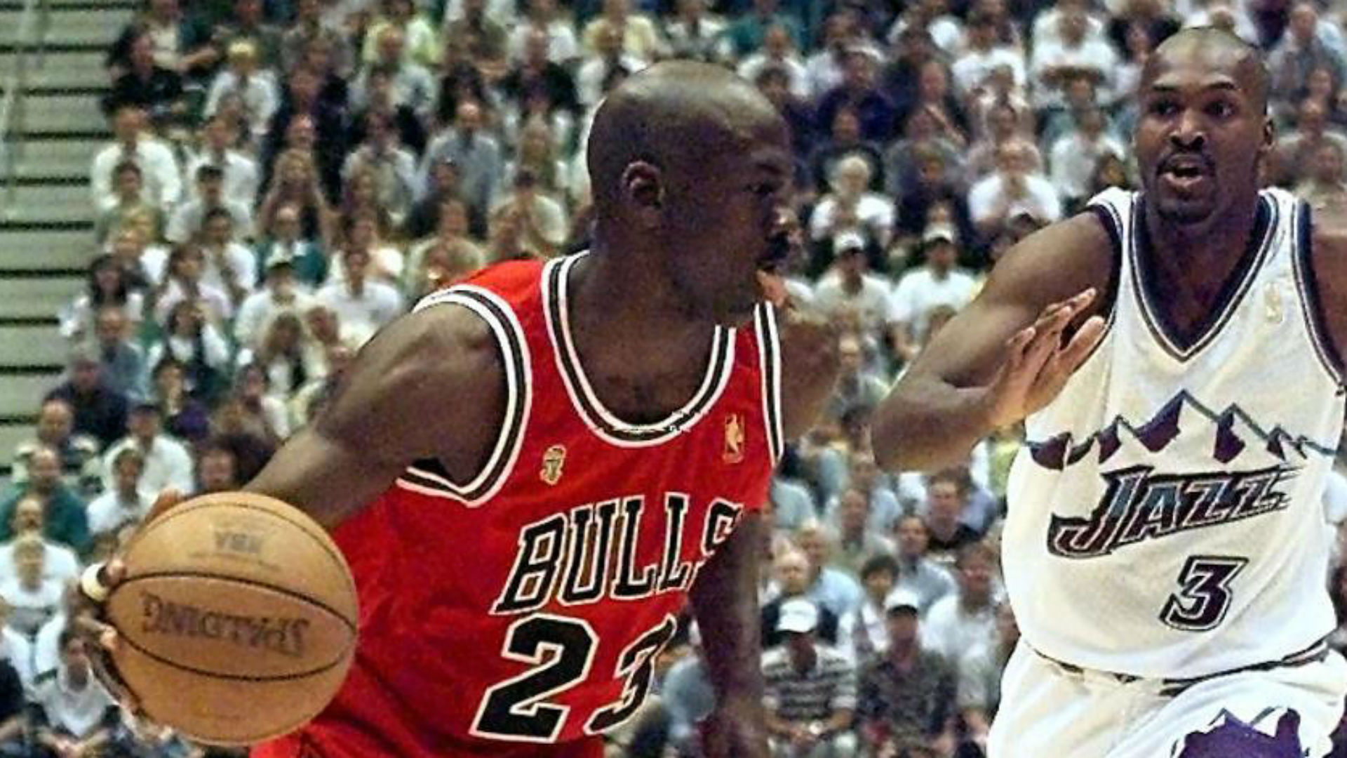 Michael Jordan's clutch play in Game 6 of 1998 NBA Finals went well beyond his last shot with Bulls 1