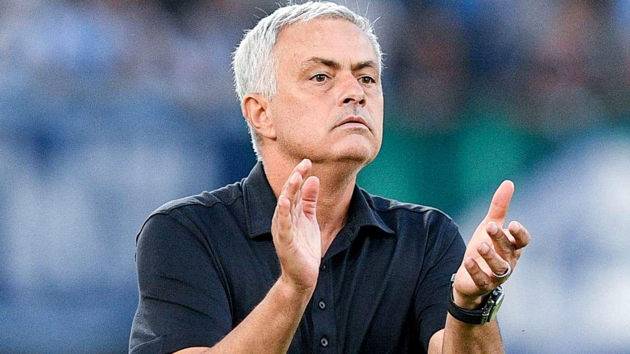 Jose Mourinho - AS Roma - September 26, 2021