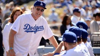 Celebs at Dodgers games