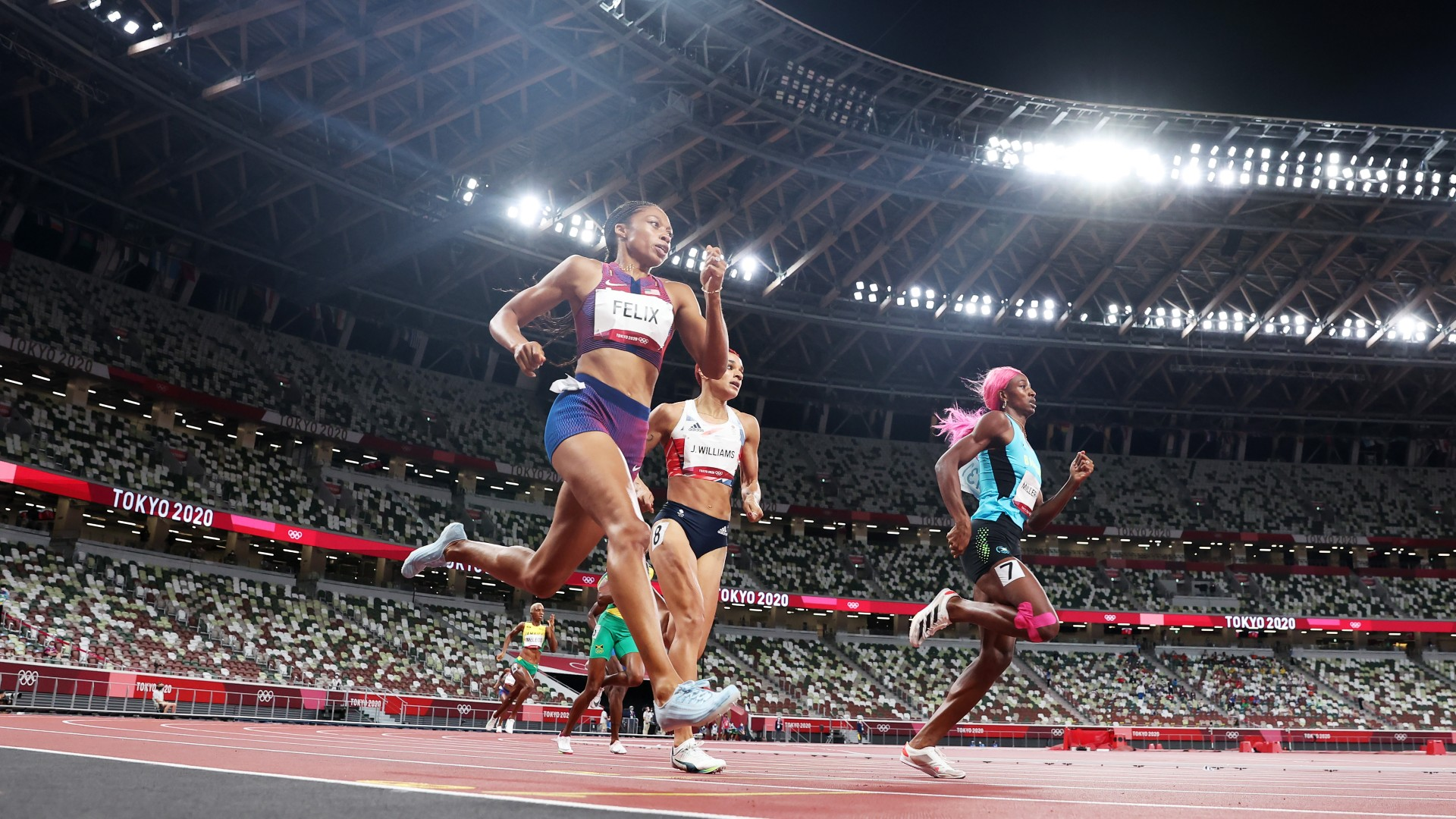 Allyson Felix becomes the most decorated female Olympian in history