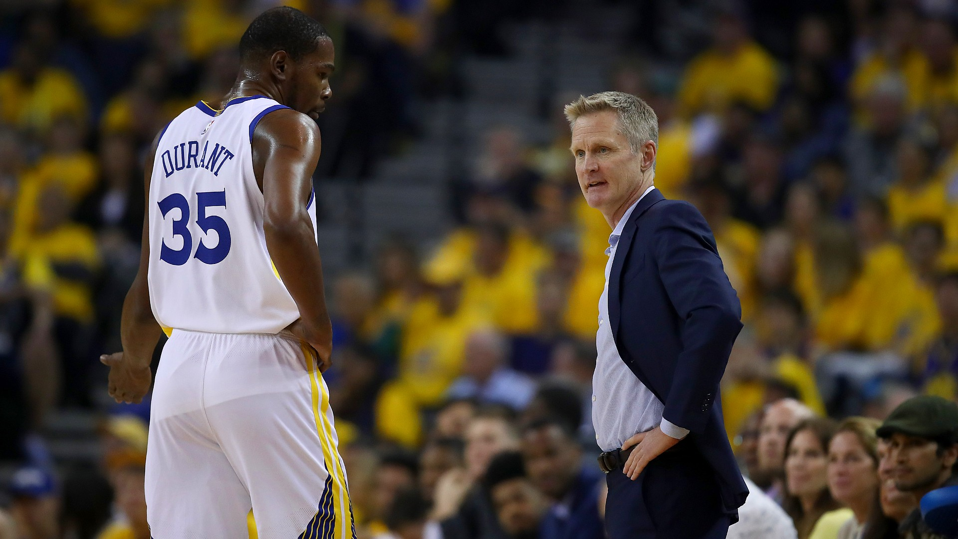 Warriors' Steve Kerr 'angry' over 'irresponsible' media tweet that appeared to stir Kevin Durant drama