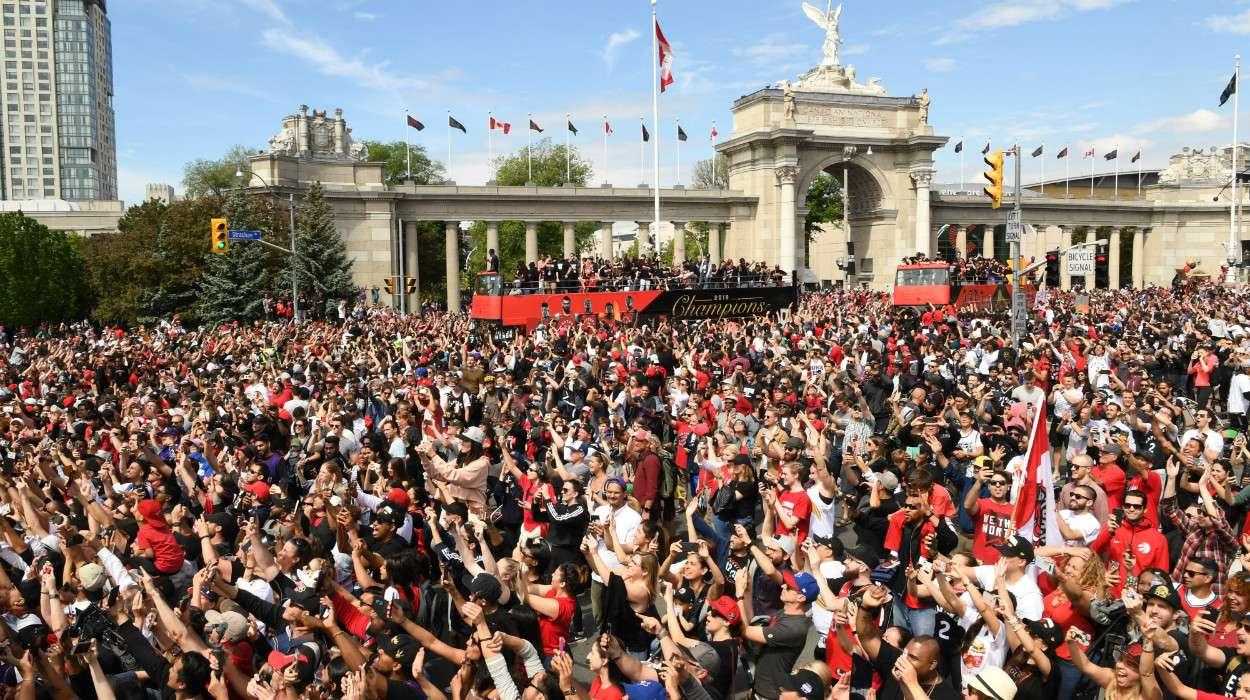 Toronto Raptors Championship Victory Parade