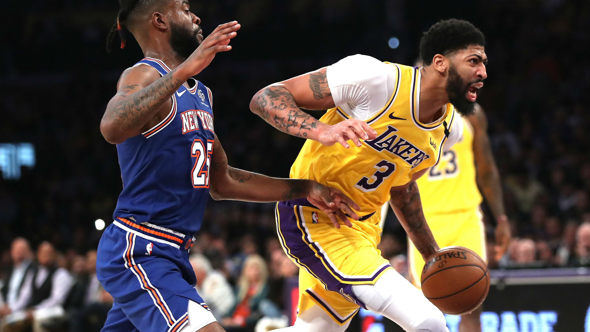 Anthony Davis injury update: Lakers star escapes with ...