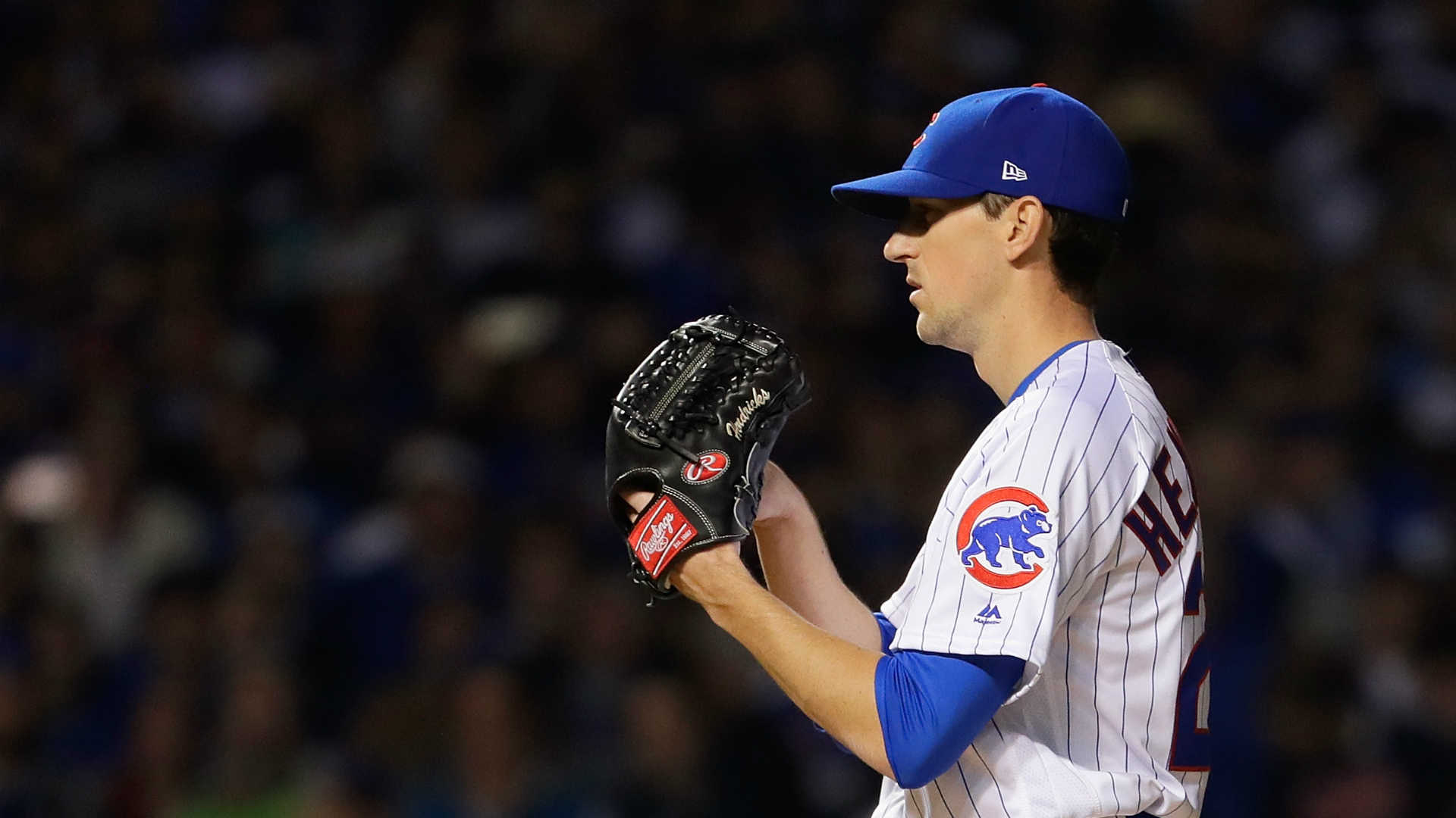 Kyle Hendricks makes history for the Cubs with his first historic bad play and the Braves