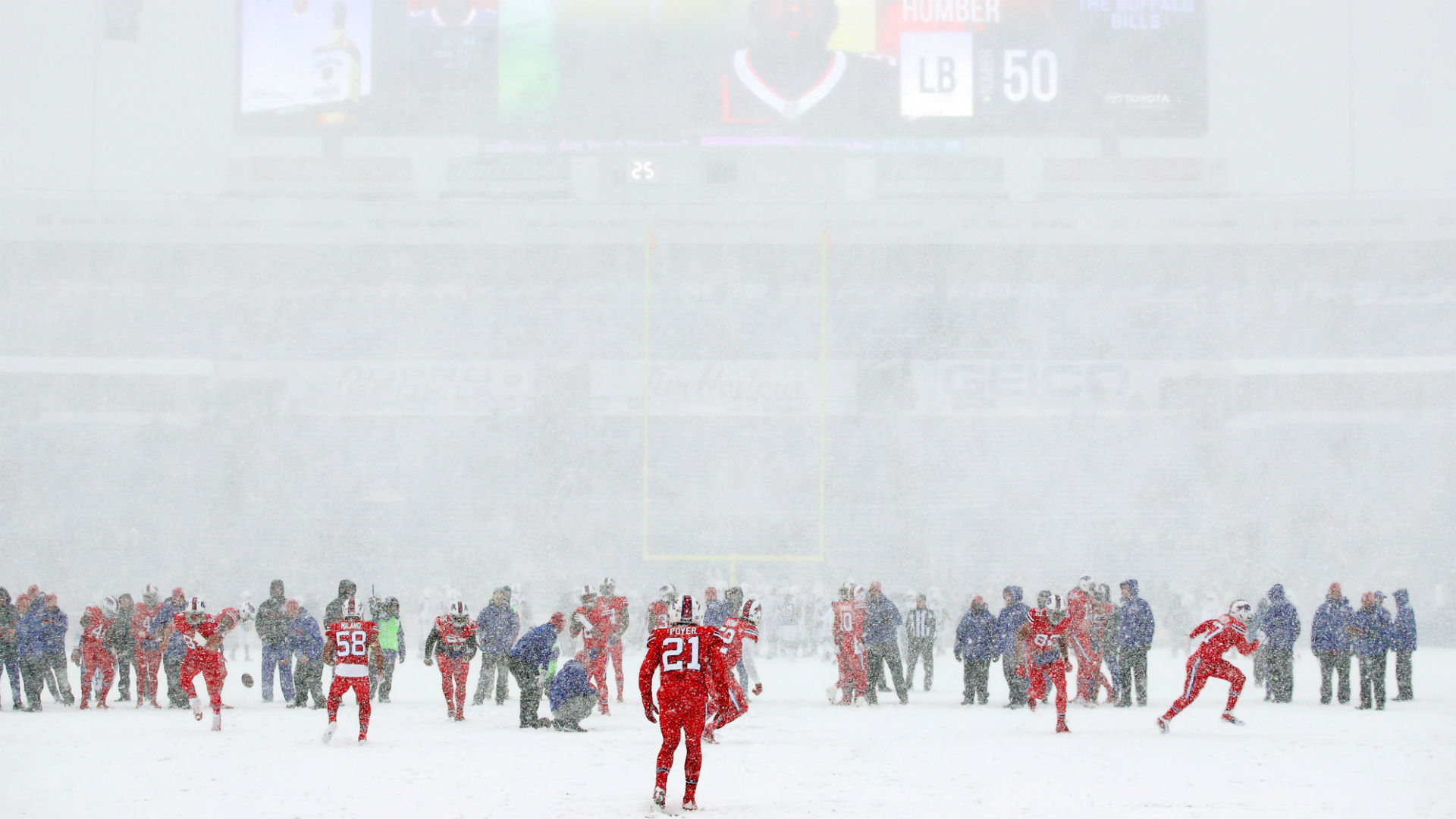 Bills Vs Colts Images From Snow Game In Buffalo Sporting News Australia