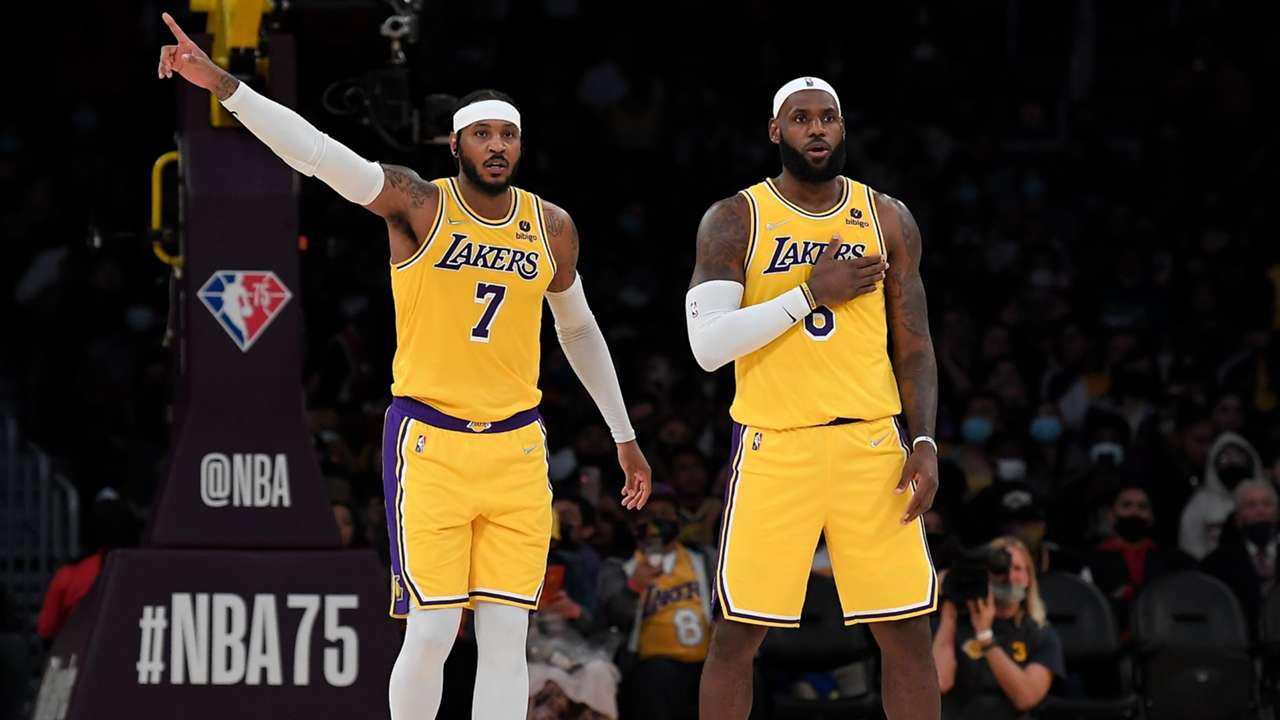 Carmelo Anthony is set to make his Lakers debut alongside LeBron James.
