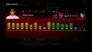 MLB The Show 16 Wilson Ramos ratings