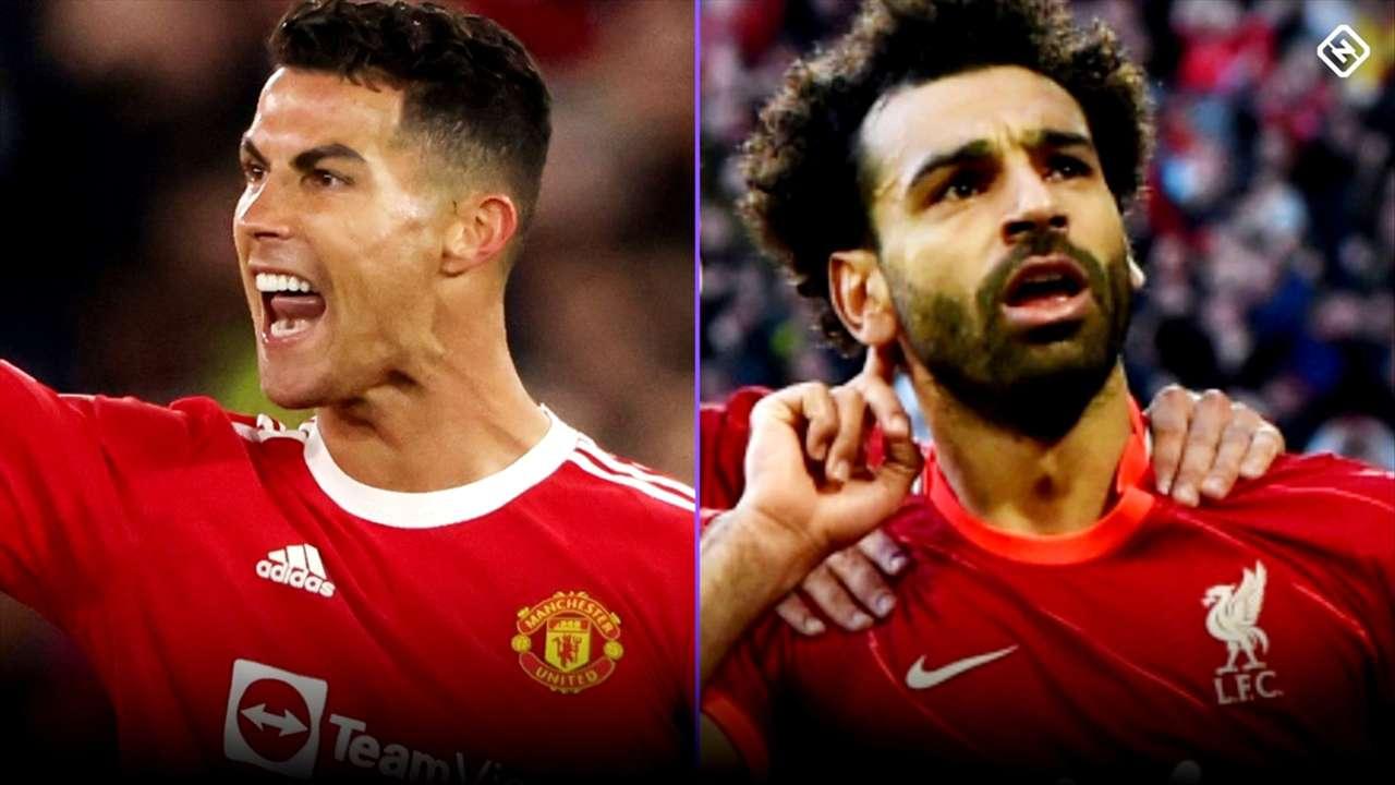 Cristiano Ronaldo - Manchester United - Mohamed Salah - Liverpool