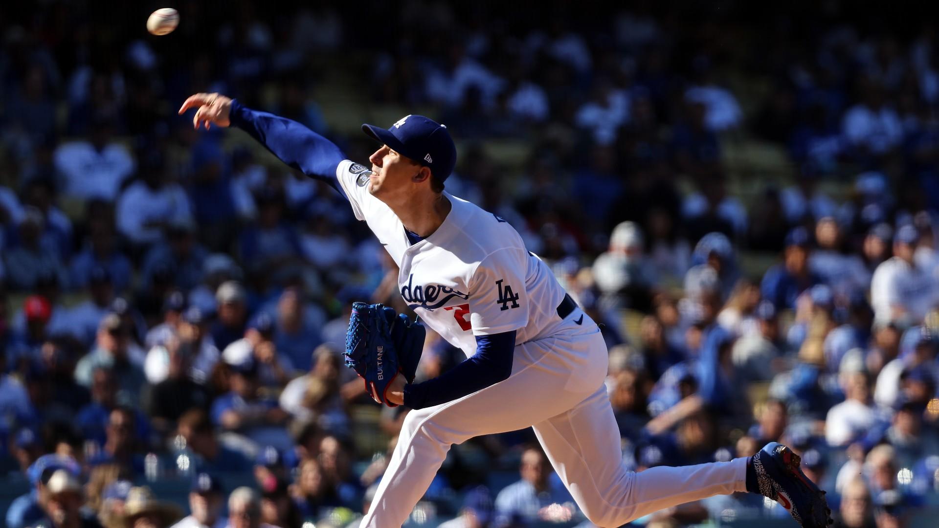 Dodgers, Walker Buehler blow lead after terrible missed strike three call vs. Braves in NLCS