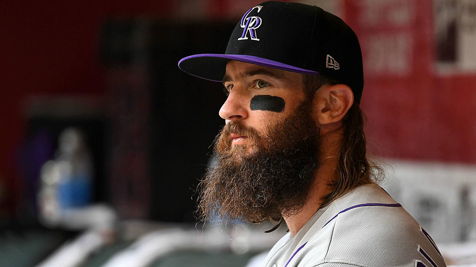 Image result for charlie blackmon beard