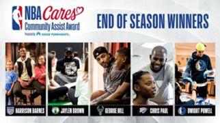 2019-20 End-of-Season NBA Cares Community Assist Award